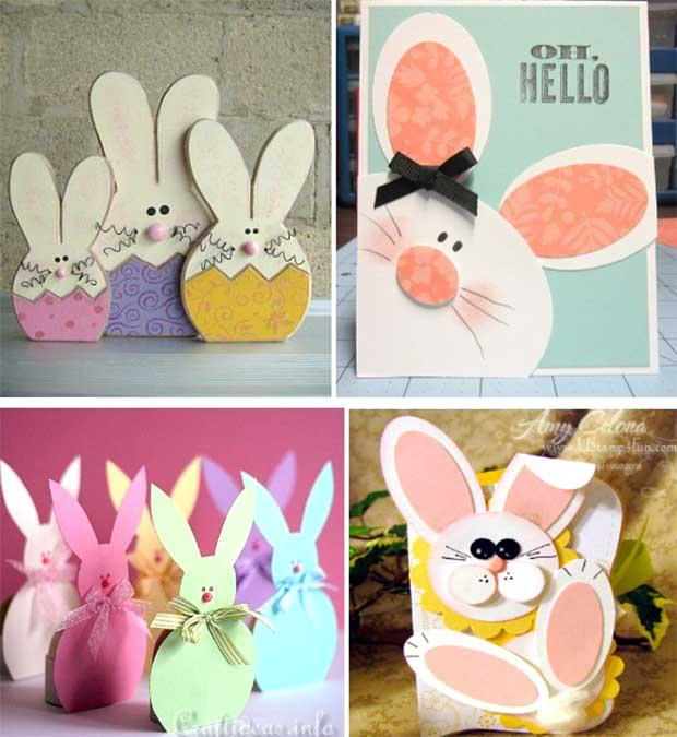 Как сделать кролика из бумаги (для начинающих)